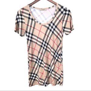 Burberry London T-Shirt Slip Dress (Girls XL)
